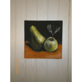 Gruszka i jabłko