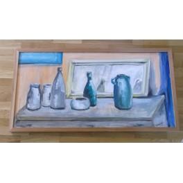 Naczynia i lustereczko