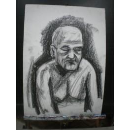 Dziadek jak był smutny