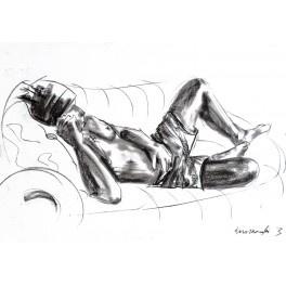 Model na kanapie