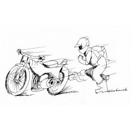 rysunek -satyra-żużel 4